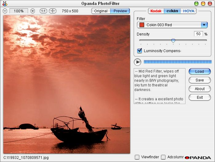 OPANDA PHOTOFILTER : COME MIGLIORARE LE FOTO DIGITALI