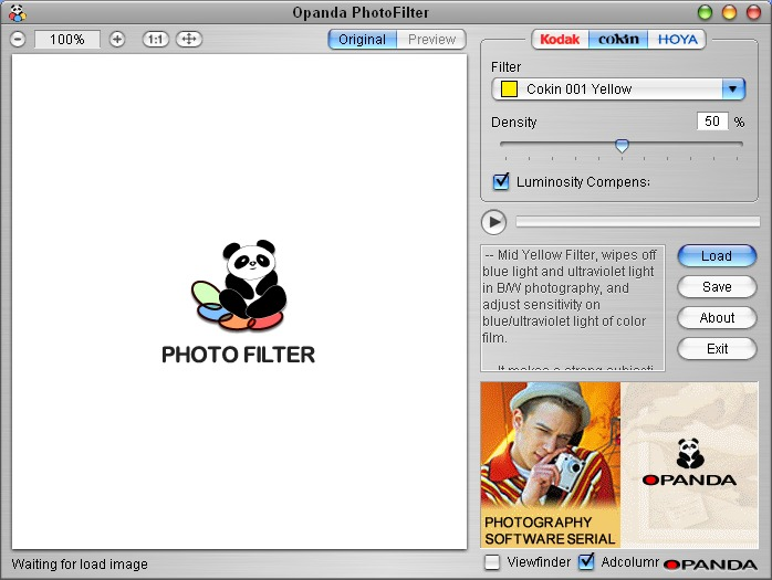 Opanda PhotoFilter
